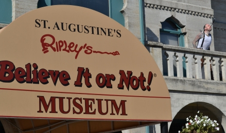 At Ripley's Believe It or Not!, St. Augustine, FL, 2012