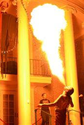 Outdoor Fire Breathing