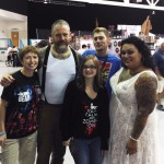 "with ""The Walking Dead"" Walkers, Greenville, SC, 2014"