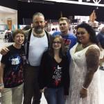 "with ""The Walking Dead"" Walkers, Greenville, SC, 2014"