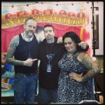 "with Scott Medjesky, ""That Damned Tattoo Contest"", Los Angeles, CA, 2013"